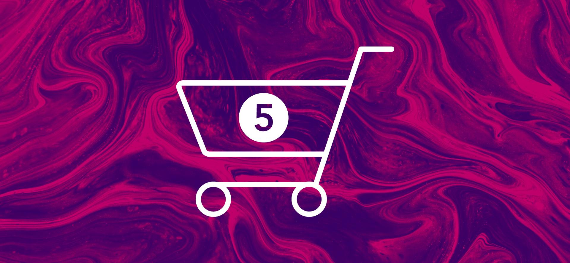 Abandoned online shopping cart